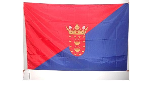AZ FLAG Bandera de Lanzarote 150x90cm para Palo - Bandera DE Lanzarote EN Las Islas CANARIAS 90 x 150 cm: Amazon.es: Hogar