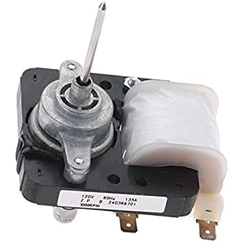 Genuine OEM Frigidaire 241854301 Refrigerator Fan Motor 5304445861 AP4343697