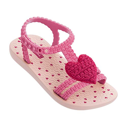 Ipanema My First Girls' Baby Sandals, Pink (6 US)]()