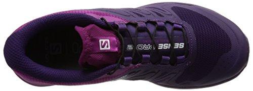 Salomon Sense Pro 2 - Zapatillas de running Mujer Morado (Cosmic Purple /     Cosmic Purple /     Azalee)