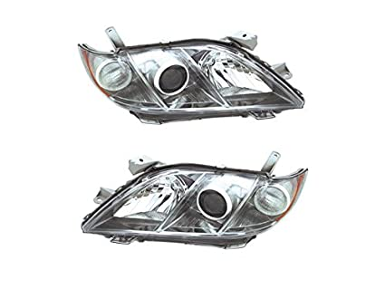 amazon com for toyota camry 2007 2008 07 08 se headlight head light