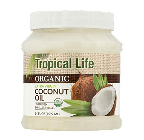 Tropical Life Organic Extra Virgin Coconut Oil, 54.0 FL OZ (54.0 FL OZ)