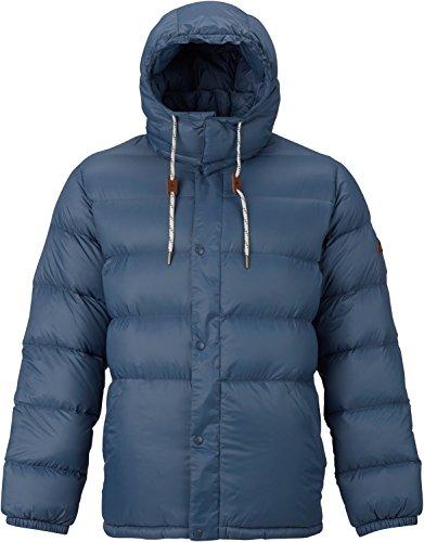 - Burton Heritage Down Snowboard Jacket Mens Sz L Washed Blue