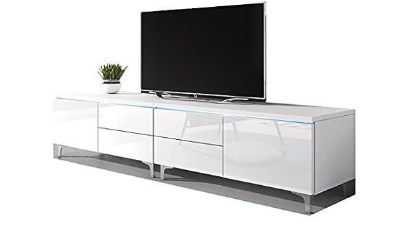 Domovero Stellar - Mueble para televisor (diseño Moderno, Color Blanco y Blanco): Amazon.es: Juguetes y juegos