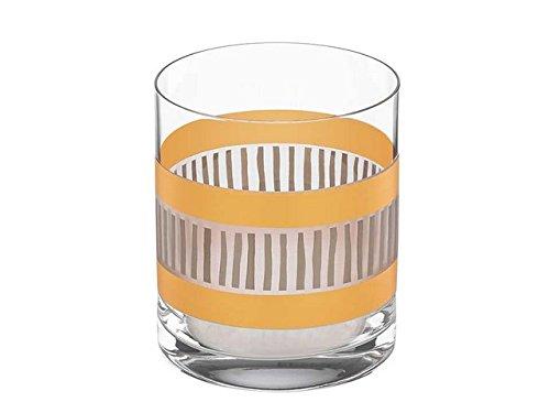 (Michael Wainwright 850600 4 H La Rochelle Gold & Platinum Double Old Fashion Whiskey Glass )