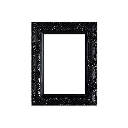 Certificate Frames Wide Ornate Shabby Chic Swept/Muse Picture/Photo/Poster Frame with an MDF Backing Board Hang-with Styrene Shatterproof Perspex Sheet 8.5