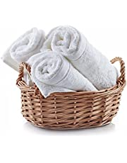 Face Cloths Pack White face Cloth washcloths spa Towels 100% Pure Cotton washcloth Towels