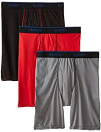 Big Boys' 3-Pack X-Temp Long Leg Boxer Brief