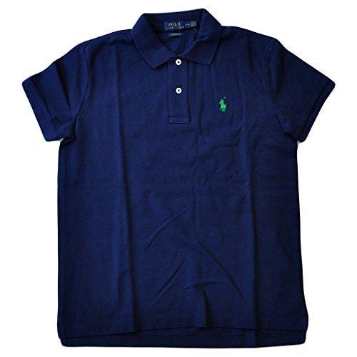Polo Ralph Lauren Women's Classic Fit Cotton Mesh Polo Shirt, Newport Navy, M