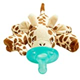 Philips Avent Soothie Snuggle Pacifier, 0m+, Giraffe, SCF347/01