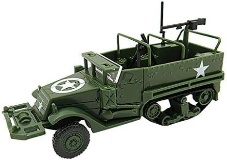 TwoCC 1:72 M3 Modelo de ensamblaje de vehículo Vehículo militar Juguete Niños Regalo Diy