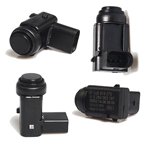 Pack of 4 Parking Sensor PDC Parking Aid for 1U0919275 PDC Parking Sensor 1J0919275: