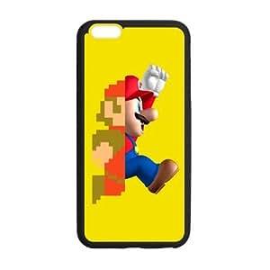iPhone 6 Plus Case, [Super Mario] iPhone 6 Plus (5.5) Case Custom Durable Case Cover for iPhone6 TPU case(Laser Technology)