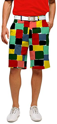 Loudmouth Golf Men's Technicolor DreamPants Shorts