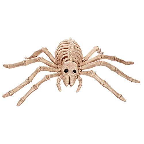 SLH Bar Haunted House Mall Movie Props Halloween Ornament Simulation Animal Spider Bones Head Horror Props