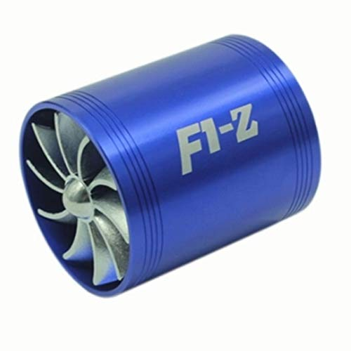 Fannty Double Turbine Turbo Air Intake Gas Fuel Saver Fan Supercharger: Amazon.co.uk: Sports & Outdoors