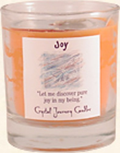 (Crystal Journey Herbal Magic Glass Filled Votive Candle - Joy)