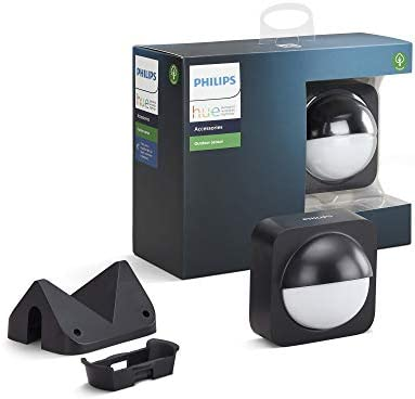 Philips Hue Dusk-to-Dawn Outdoor Motion Sensor for Smart Home, Wireless & Easy to Install (Hue Hub Required, to be used with Philips Hue Smart Lights)