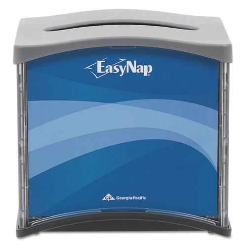 Georgia Pacific EasyNap Napkin Dispensers, Blue/Gray/Black (15 Dispensers) - BMC-GPC 54527 by Miller Supply, Inc.