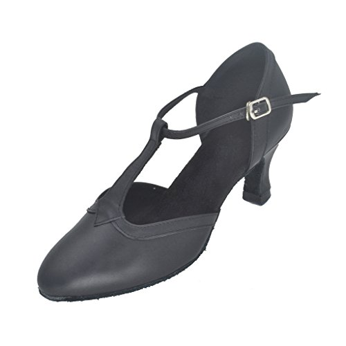 Jig Foo Women's Pumps Dance Shoes with 2.2