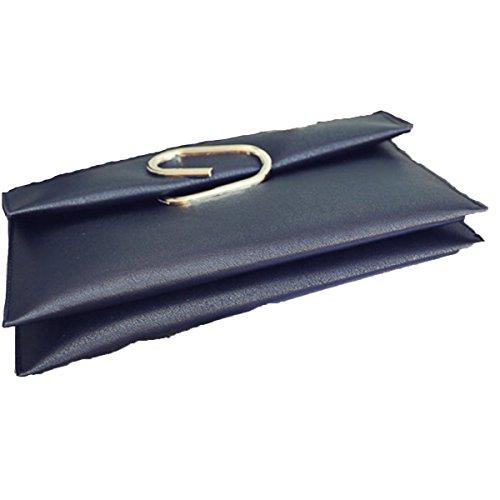 Otoño E Invierno Nuevos Bolso De Mano De Las Señoras Bolso Simple Del Sobre Paquete Diagonal Del Hombro Black
