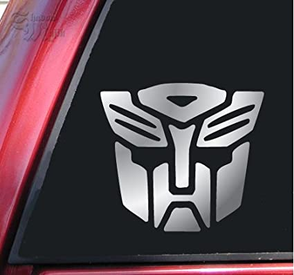 Transformers autobot vinyl decal sticker 6 x 5 5