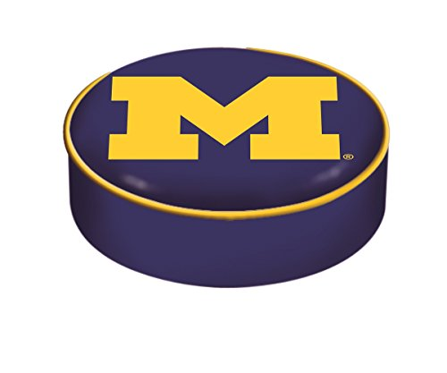 NCAA Michigan Wolverines Bar Stool Seat Cover ()