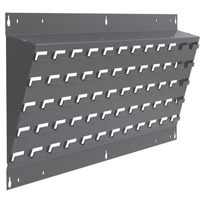 Akro- Mils Lean Panel - 15 Degree Louvered Hanging System Lean Panel