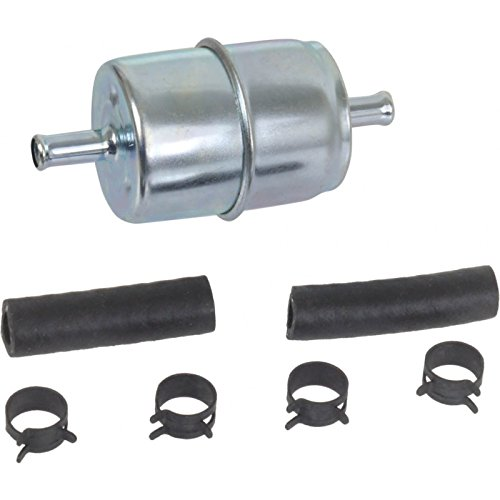 MACs Auto Parts 44-34795 Ford Mustang Fuel Filter - In-Line Type - All 6 Cylinder and V-8 Engines - Hastings
