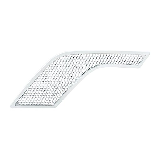 United Pacific 41669 Chrome Hood Air Intake Grill (Driver, Volvo VNL)