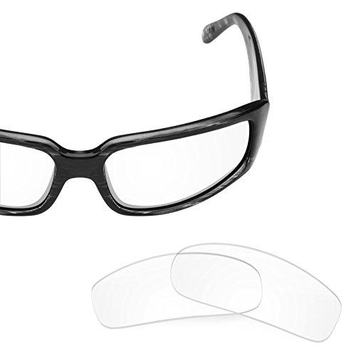 Verres de rechange pour Von Zipper Sham — Plusieurs options Transparent - Non-Polarisés