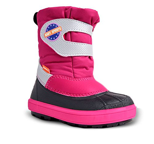 Demar Kinder Winterstiefel Baby Sports | In versch. Farben und Größen Pink