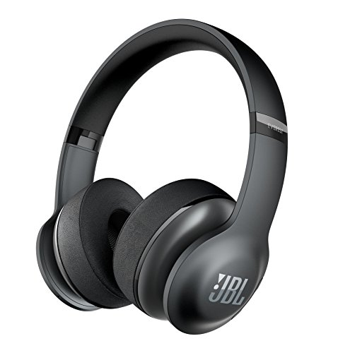 JBL Everest 300 Wireless Bluetooth On-Ear Headphones (Black)