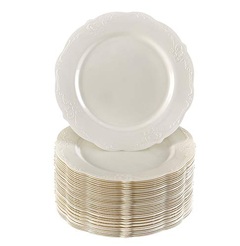 """40 Dessert Plates 