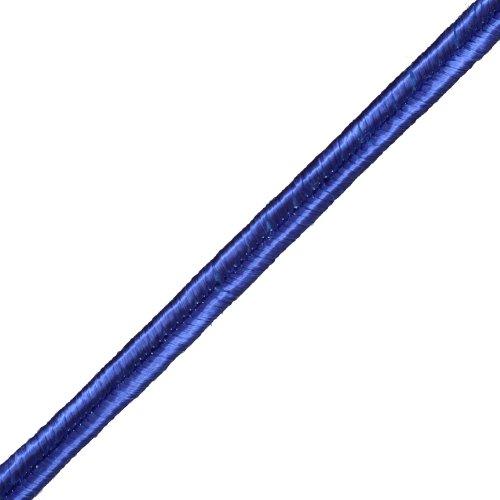- Fifty Shades Trims 1/8-Inch Rayon Soutache Braid, Royal Blue, Beige, Purple, Navy