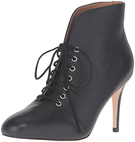 Corso Como Women's Myer Ankle Bootie, Black Leather, 8 M - Myer Womens Brands