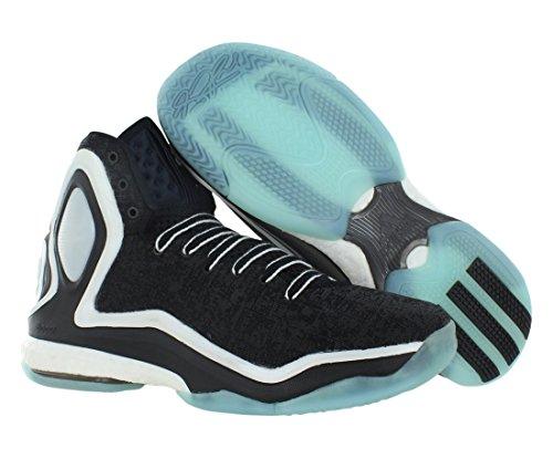 adidas D Rose 5 Boost hombres zapatillas de deporte / zapatos de baloncesto Black