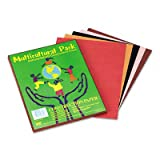 Multicultural Construction Paper, 9 x 12, 10 Skintone Hues, 50 Sheets [Set of 3]