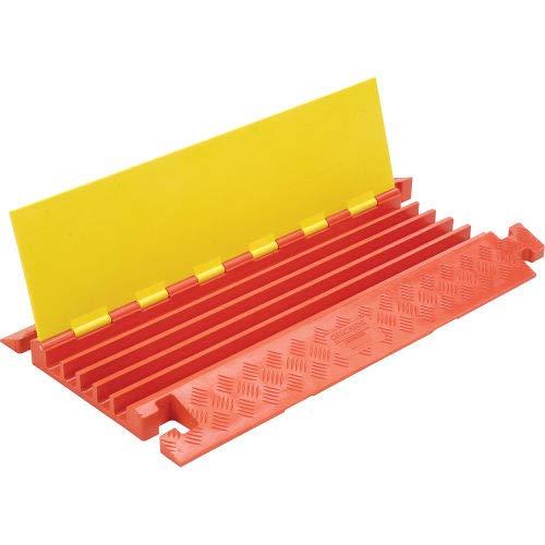 5-Channel Heavy Duty Cable Guard, 36''L x 20''W x 2-5/16''H, Yellow/Orange (CP5X125)
