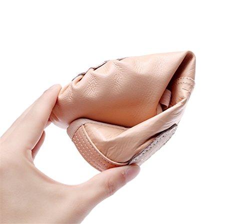 Scarpe balletto Calzature WX adulti ventre da 39 da artiglio Flesh per da donna da 26 adulti da Scarpe XW del bambini per pelle Scarpe ballo danza in Scarpe pink da basse ballo ZRqxpt4