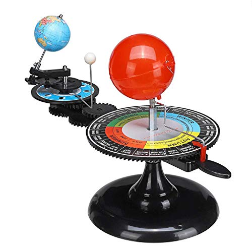 Office Globe Solar System Globes Sun Earth Moon Orbital Planetarium Model Teaching Tool Education Astronomy Demo for Student Toy (Size : 3428cm) ()