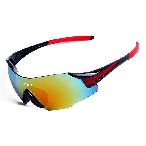 Review WOLFBIKE UV400 Cycling Glasses
