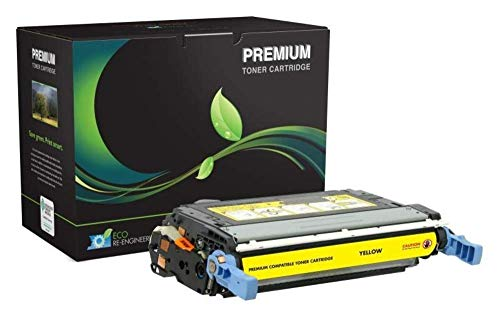 MSE Remanufactured Yellow Toner Cartridge for HP Q6462A (HP 644A) (Yellow / 12,000) -