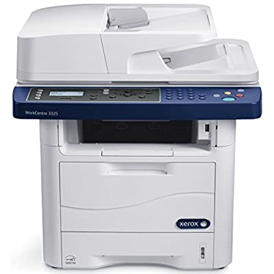 Refurbished Xerox WorkCentre 3325 Letter-size Black-and-white Multifunction Printer - 37 ppm, Up to 1200dpi, Auto Duplex, 300 Sheets, Built-in Wi-Fi