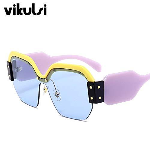 Amazon.com: Gafas de sol sexy sin borde de gran tamaño para ...