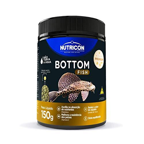 Bottom Fish 150gr Nutricon Para Peixe Tropical Todas As Fases