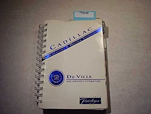 1995 cadillac deville owners manual cadillac amazon com books rh amazon com 1995 cadillac deville service manual 1999 Cadillac DeVille