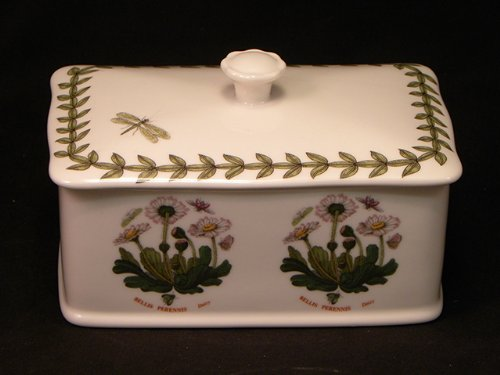 Portmeirion Botanic Garden Covered Butter Tub