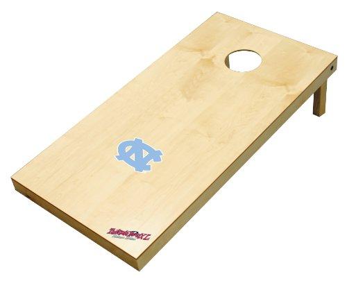 lege North Carolina Tar Heels 2' x 4' Authentic Cornhole Game Set (Tar Heels Game Table)