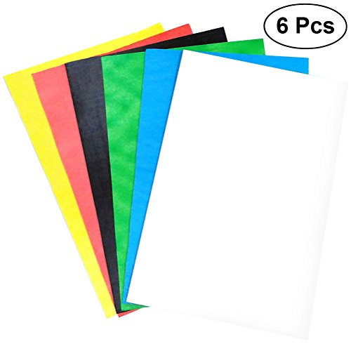 TOYMYTOY Foam Board Sheet Assorted Colors,12x16 inch,Pack of 6